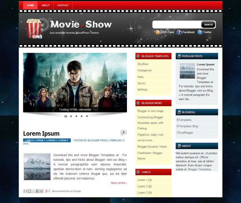 Blog Movie