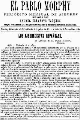 El Pablo Murphy, 8 de diciembre de 1891