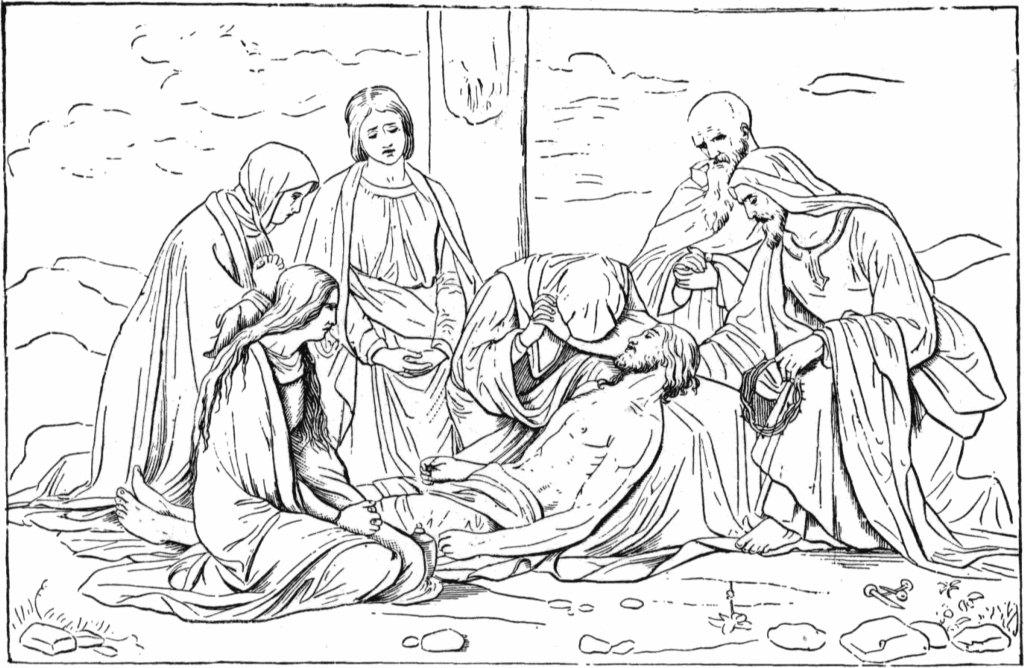 jesus-crucifixion-wallpaper+coloring+page.jpg (1024×668 ...