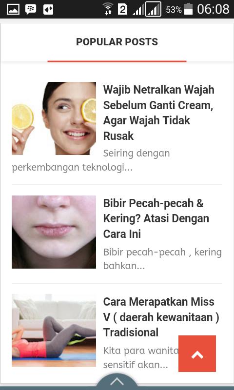 Baca-baca Gratis di Smartphone Seputar Kesehatan & Kecantikan