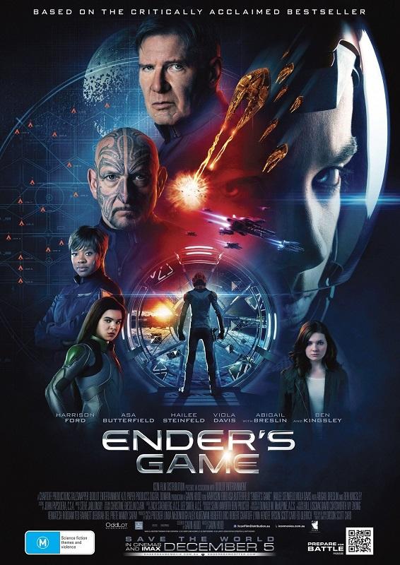 فیلم دوبله: بازی اندر (2013) Ender's Game