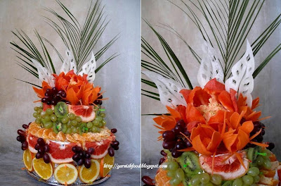 fruit carving tower