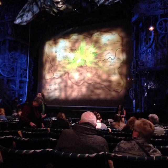 Wicked at the London Apollo Victoria Theatre