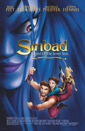 Sinbad Legend of the Seven Seas 2003 English 280MB BluRay ESubs 480p