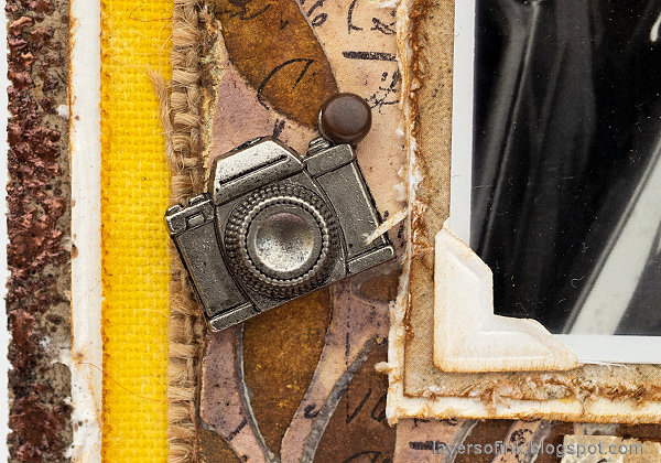Layers of ink - Past Times Wall-Hanger Tutorial by Anna-Karin Evaldsson.