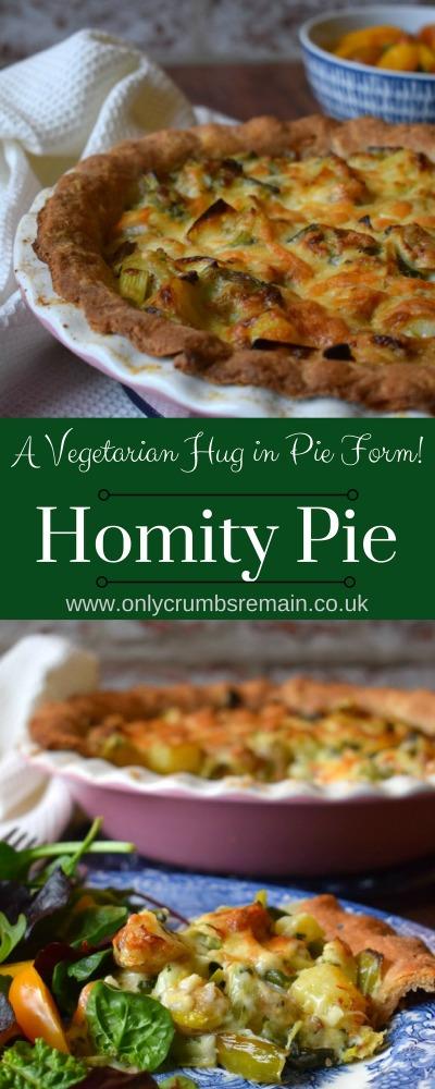 Homemade Homity Pie Recipe, a vegetarian hug in pie form