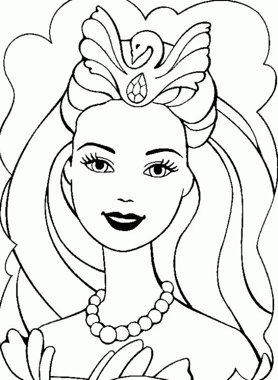 Maestra de Infantil: Las Barbies. Dibujos para colorear.