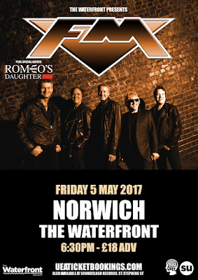FM - Romeo's Daughter - Norwich Waterfront 5 May 2017 - poster