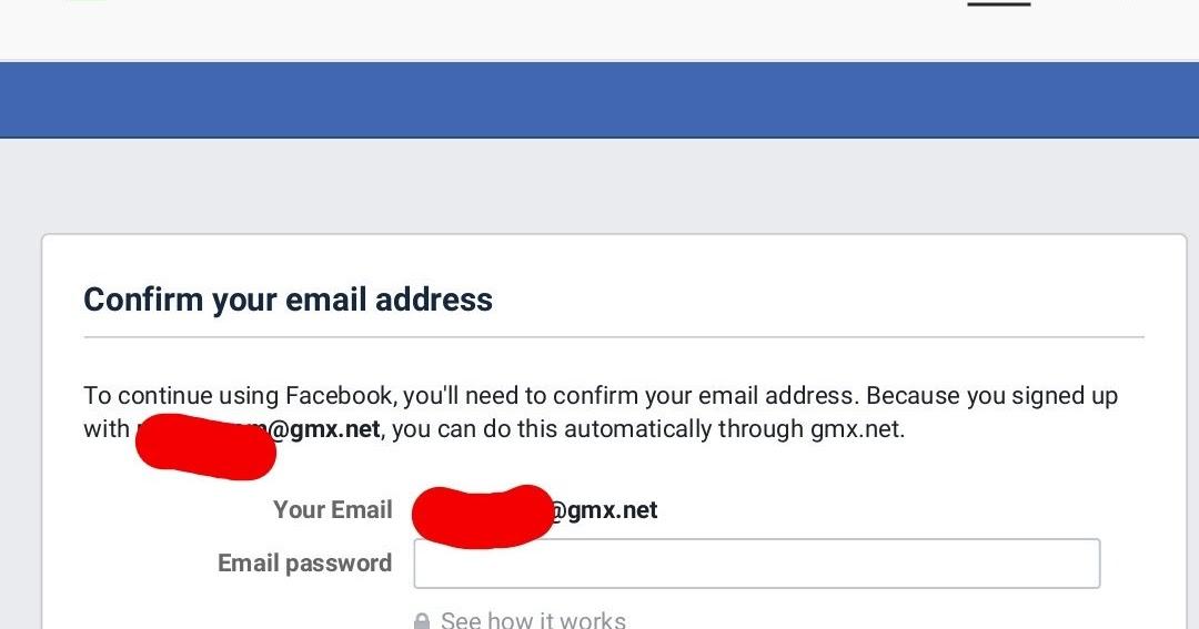 QnA VBage Perché Facebook chiede la password della mail?