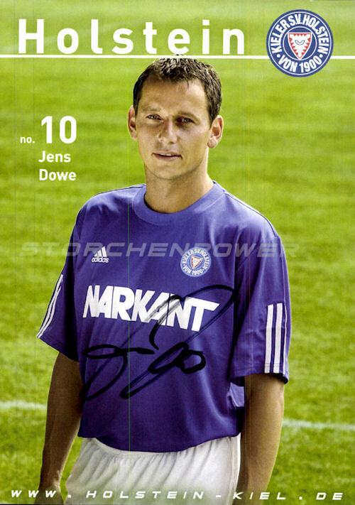 ksv holstein kiel autogrammkarten 2003