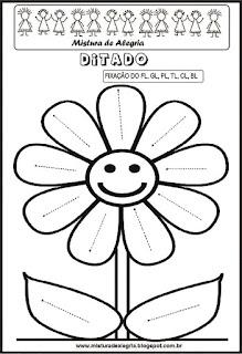 Treino ortográfico fl de flor