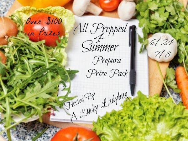 Enter the All Prepped 4 Summer Giveaway. Ends 7/8.