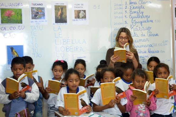 Índice de alunos com nível insuficiente de leitura em 2016 correspondia a 54,73%. Em 2014, o número estava em 56,17%, o que pode ser considerado uma estagnação na melhoria das taxas Elza Fiuza/Agência Brasil