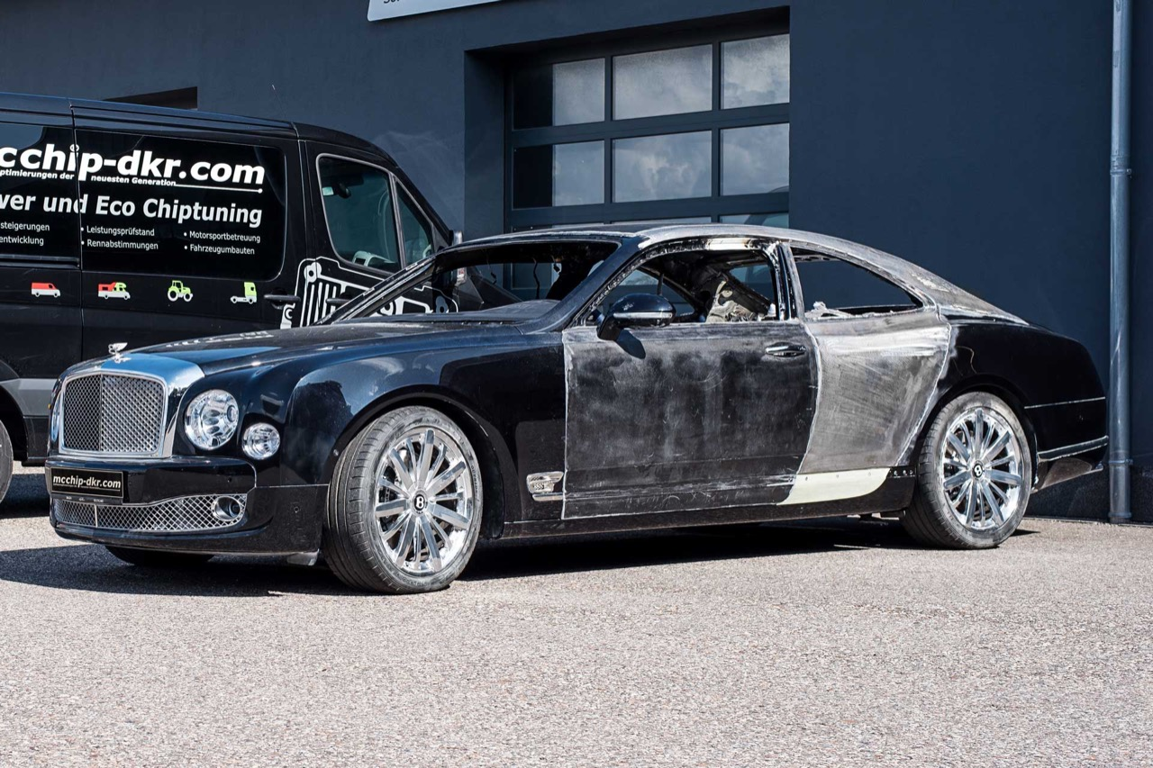 This German Tuner Is Building A Bentley Mulsanne Coupe