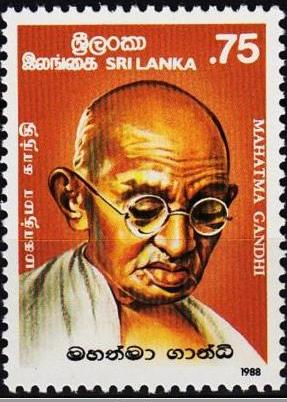 GANDHI STAMPS CLUB: Sri Lanka Gandhi Stamps : Why you will