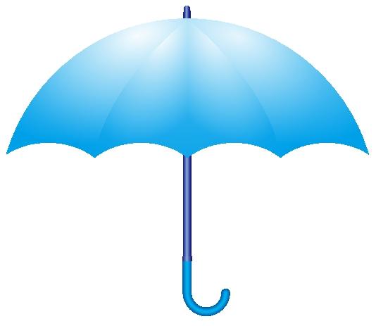 傘のイラスト。