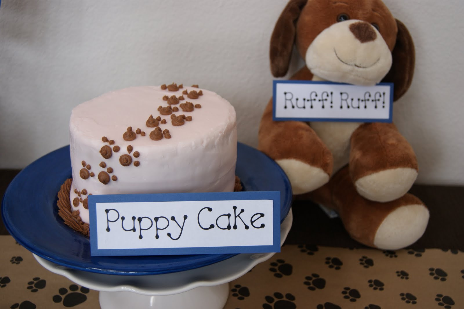 Michelle Paige Blogs A Puppy Themed Party