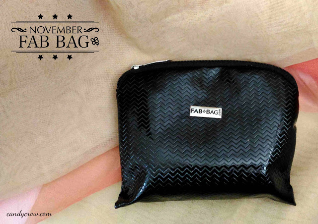 November 2015 Fab Bag Review