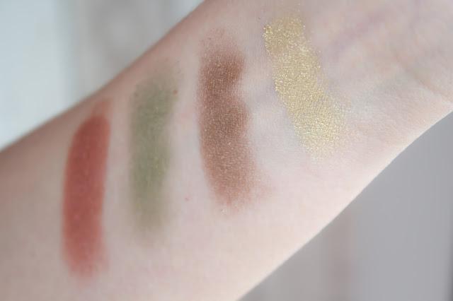 maquillage monday shadow challenge bronze swatch