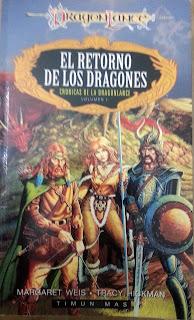 reseña de El retorno de los dragones - literatura fantástica