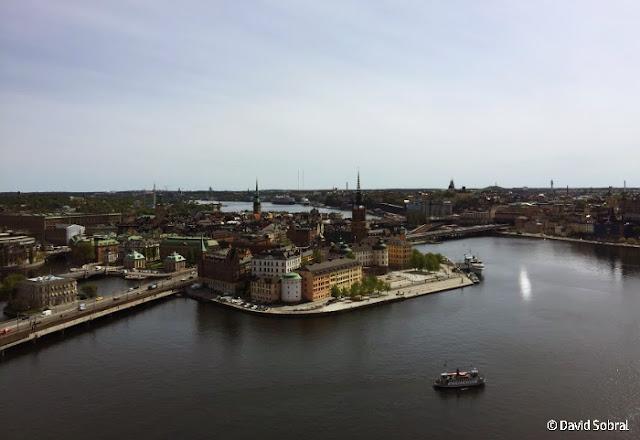 Estocolmo visto desde la torre del Ayuntamiento