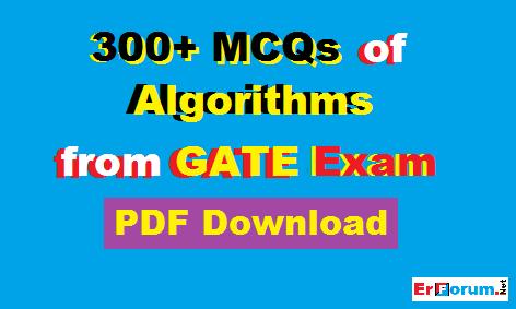 algorithms-mcq-gate-exam