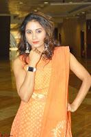 Bhanu Priya in Oreange Ethnic Anarkali Dress 13.JPG