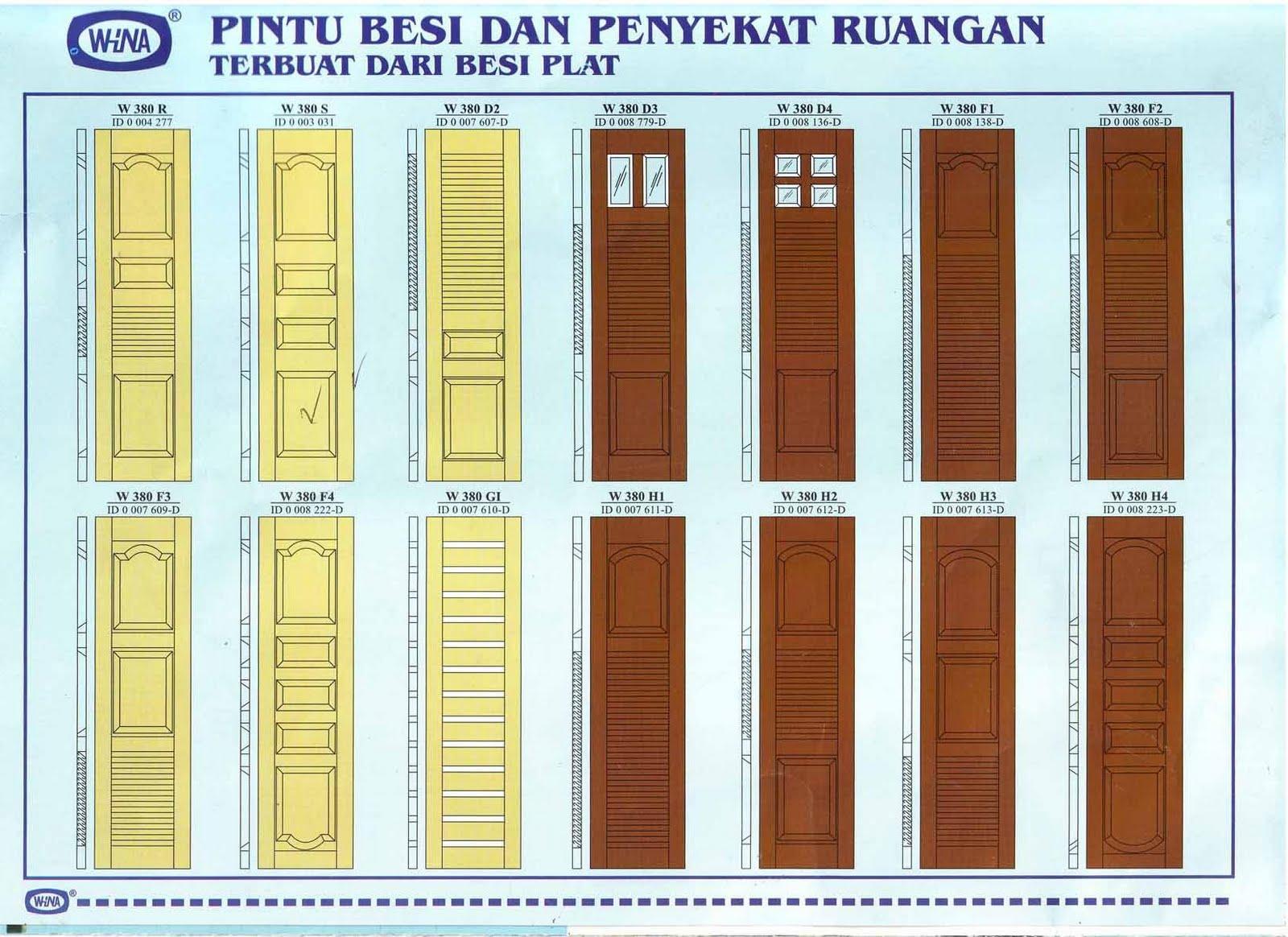Gambar-gambar daun pintu Minimalis Terbaru | Informasi ...