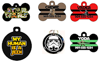 6 cool star wars dog tags