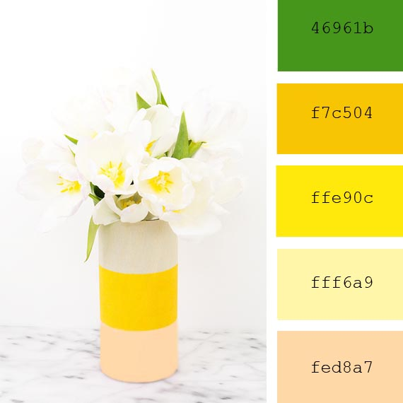 spring tones, inspiration and resources for designers, color palettes