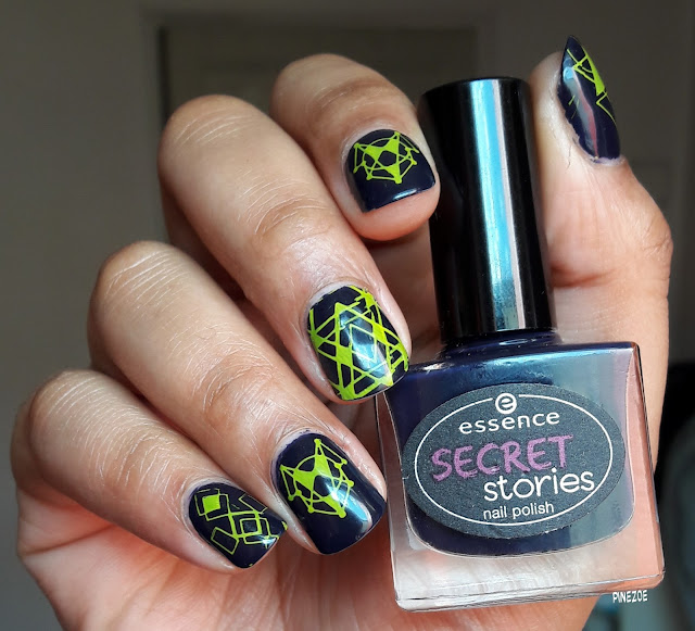 essence that's my secret et stamping BPL054