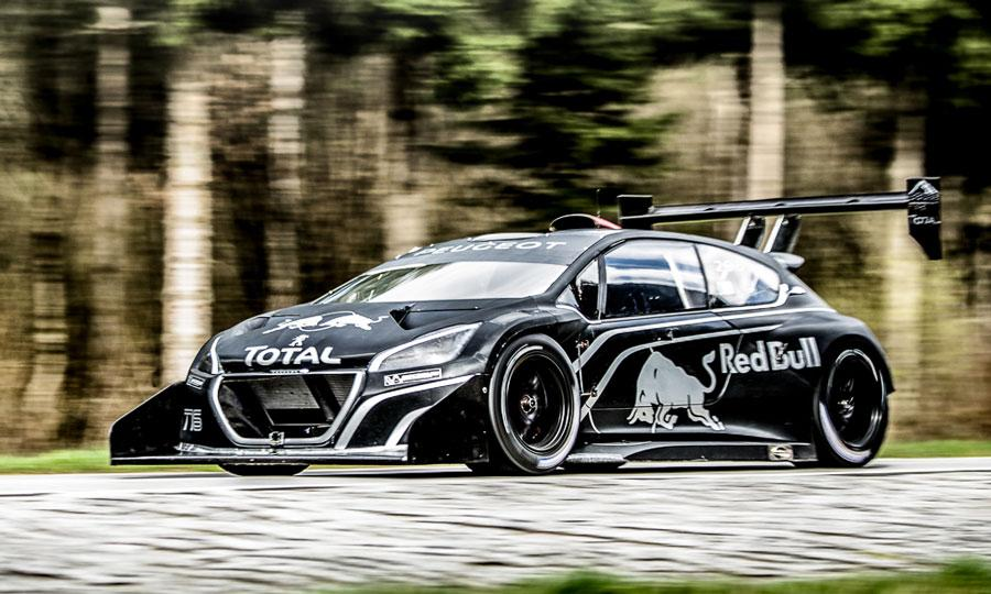 peugeot 208 t16 pikes peak only need 1 8 second to blow your mind automotive car manufacture. Black Bedroom Furniture Sets. Home Design Ideas
