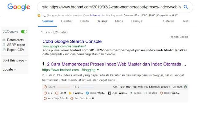 cek indeks google, indeks, google indeks, artikel indeks, indeks atau tidak