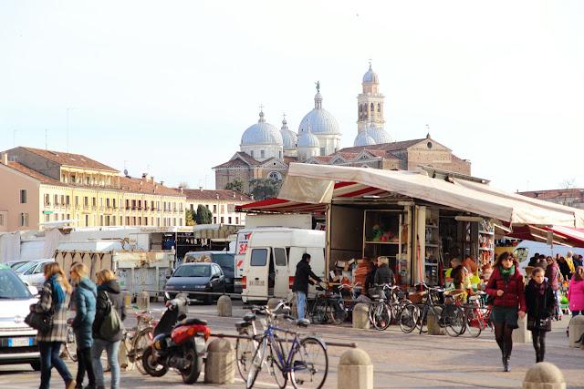 Mercato di Prato della Valle il sabato