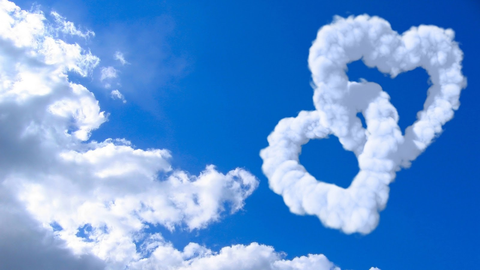 3d Love With Clouds Wallpaper Love Wallpapers Free Best 2