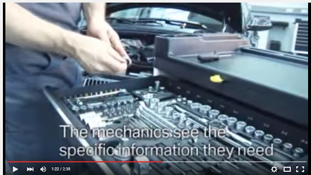 video about augmented reality and car repair