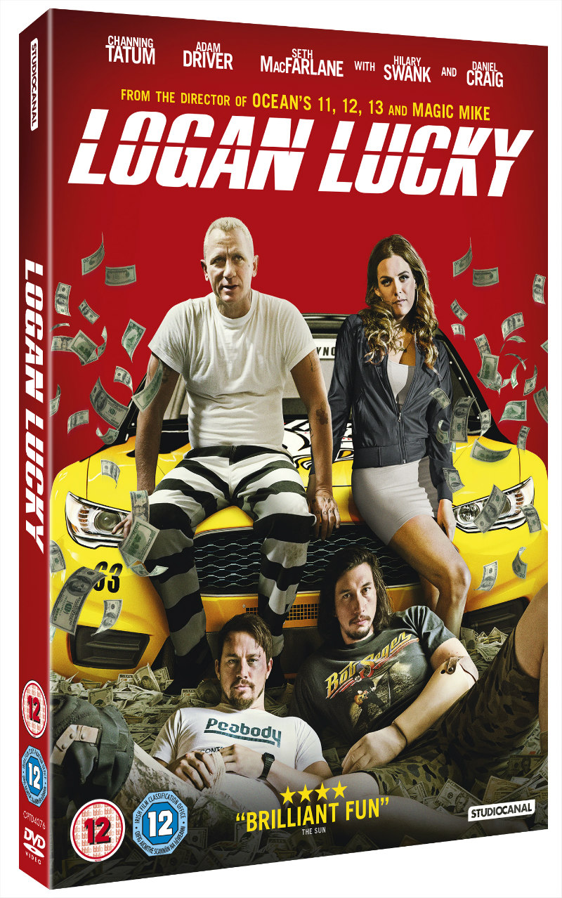 logan lucky uk dvd