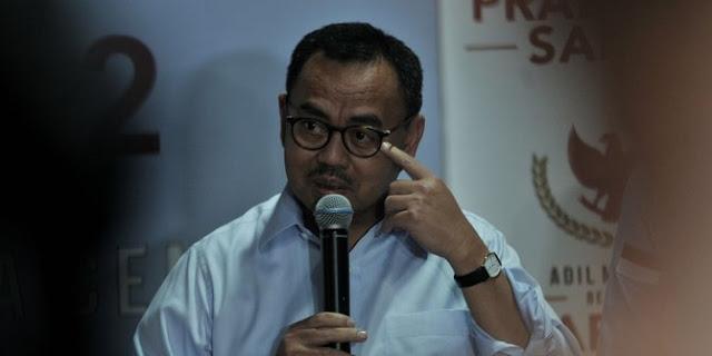 TKN Jokowi: Politik Membuat Sudirman Said Rabun Melihat Kenyataan