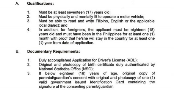 Pinoy Roadtrip: NEW RULES ON HOW TO GET A STUDENT DRIVER'S PERMIT on registration application form, checking account application form, security license application form, education application form, title application form, training application form, driving licence application form, id application form, driver training form, home application form, driver license id card application, property tax application form, social security card application form, drivers permit form, dmv application form, vehicle application form, ssn application form, driver license online application, u.s. passport application form, permit application form,
