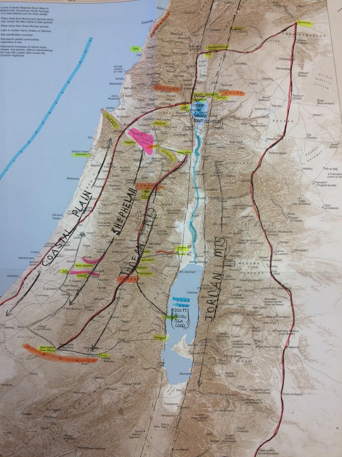 trip orientation call walking in the footsteps of jesus