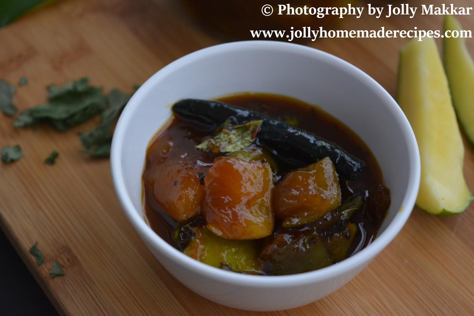 Odia style Swee and Sour mango chutney