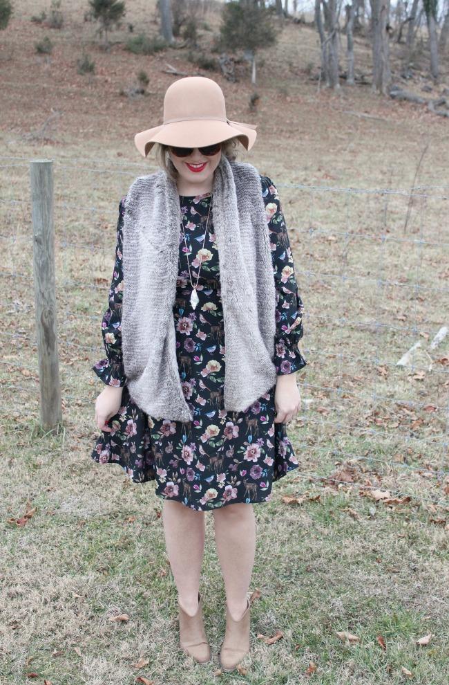 EShakti Woodland Dress // Julie Leah Blog
