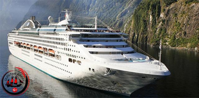 Destinasi Wisata kapal Pesiar Dawn Princess
