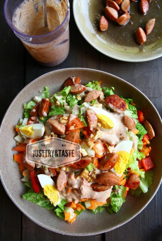 Resep Creamy Salad Dressing