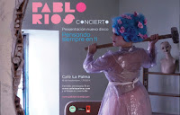 Concierto de Pablo Ríos en Café La Palma