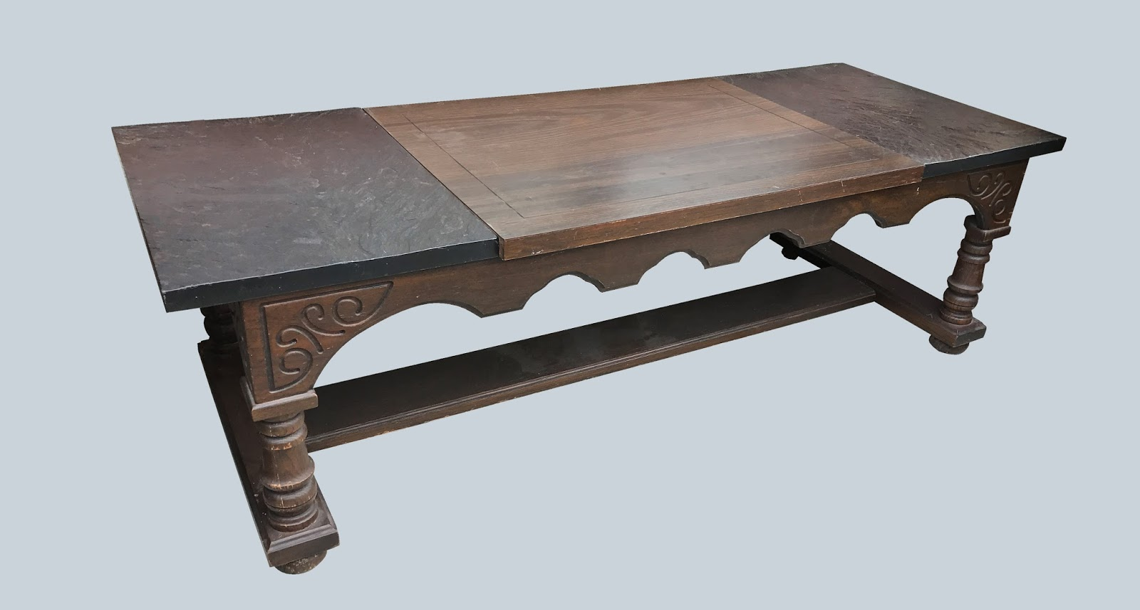 Uhuru Furniture Collectibles Gothic Coffee Table 55 Sold