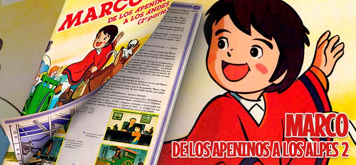 Álbum Marco, de los Apeninos a los Andes 2ª parte