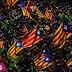 Marcha pela independência da Catalunha reúne 1 milhão em Barcelona