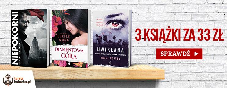 Skorzystaj z promocji: 3 książki za 33zł!