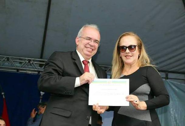 Promotora de justiça Marta Bueno recebe o título de cidadã honorária de Pão de Açúcar